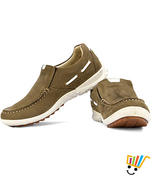 Woodland Outdoors Shoes Soft Padded Footbed - Tobacco
