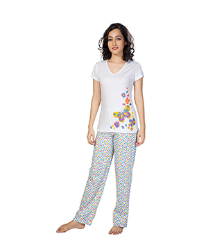 Clifton Womens Butterfly Pyjama Set AAA00012888-892