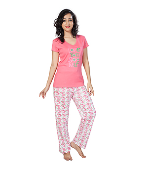 Clifton Womens Love U So Much Pyjama Set AAA00012904-907