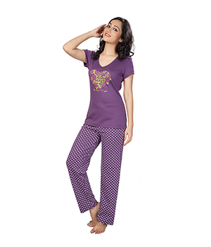 Clifton Womens Floral Heart Pyjama Set AAA00012913-917