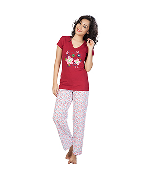 Clifton Womens Sweet Dreams Pyjama Set AAA00012923-927