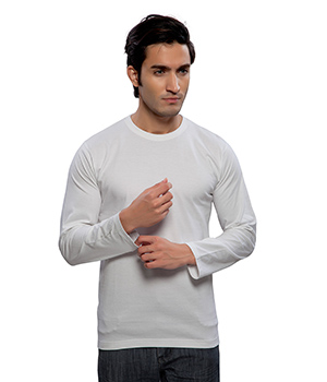 Clifton Basic Mens R Neck Full sleve T- Shirt AAA00013171