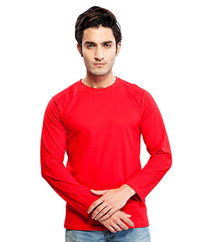 Clifton Basic Mens R Neck Full sleve T- Shirt AAA00013176