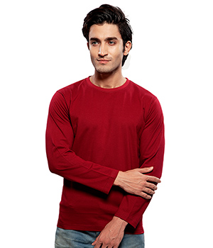 Clifton Basic Mens R Neck Full sleve T- Shirt AAA00013181