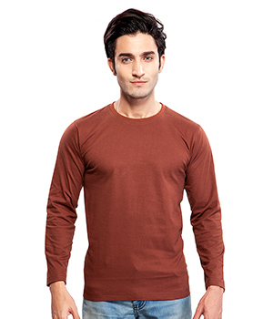 Clifton Basic Mens R Neck Full sleve T- Shirt AAA00013201