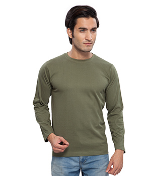 Clifton Basic Mens R Neck Full sleve T- Shirt AAA00013241