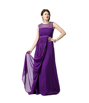 Eavan Fit & Fare Pleated Gown EA819
