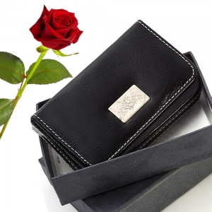 New Designer Leather Visiting Card n Credit Card Holder Valentine Gift DLV5WLT186