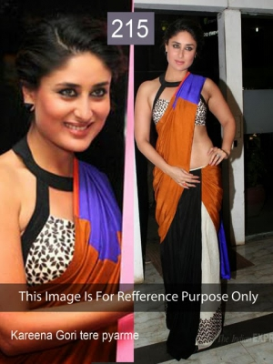 Riwaz Collection Kareena Multicolour Bollywood Saree RWZC-215