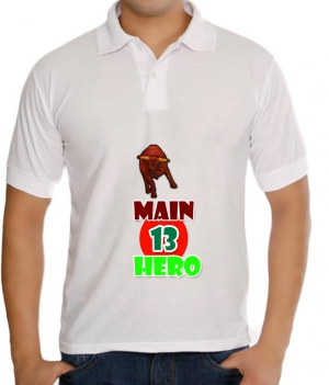 meSleep Main tera hero T-Shirt Dry Fit bts-03-018