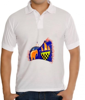 meSleep Elephant Ship T-Shirt Dry Fit bts-03-032