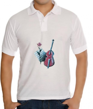 meSleep Rose Guitar T-Shirt Dry Fit bts-03-039