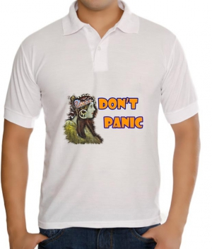 meSleep Dont Panic T-Shirt Dry Fit bts-03-054