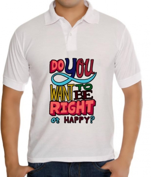 meSleep Right or Happy  T-Shirt Dry Fit bts-03-101