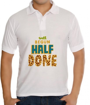 meSleep Half Done T-Shirt Dry Fit bts-03-102