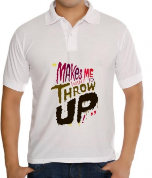 meSleep Throw up T-Shirt Dry Fit bts-03-108