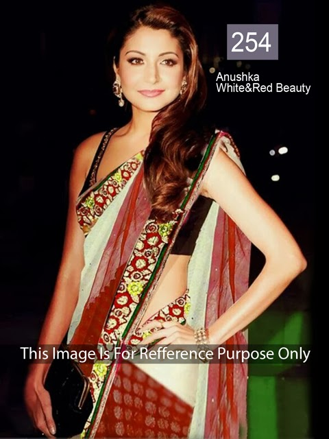 Aushka Sharma Bollywood Replica Saree ET-254