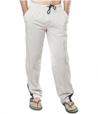 Clifton Mens Coloured Track Pant-Off White AAA00017943