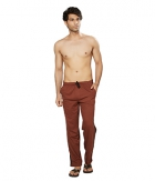 Clifton Mens Coloured Track Pant-Brown AAA00017959