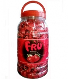FRU Juicy Jelly Candy Strawberry Jar 1976 gram A BABA Product BA007