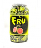 FRU Juicy Jelly Candy Guava Jar 760 gram A BABA Product BA009