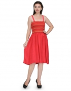 Designer Party Wear Regular Fit Dress DRS1016