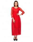 Designer Party Wear Regular Fit Dress DRS1025