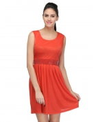 Designer Party Wear Regular Fit Dress DRS1029