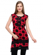 Designer Party Wear Regular Fit Kurti KRT6015