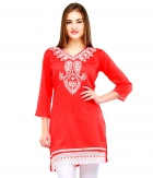 Designer Party Wear Regular Fit Kurti KRT6026