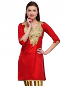 Designer Party Wear Regular Fit Kurti KRT6038