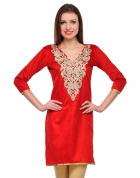 Designer Party Wear Regular Fit Kurti KRT6041