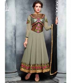 Shoponbit New Beautiful Flower Embroideried  Anarkali Suit SHZL6-11004