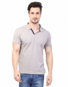 Rugby Mens Half Sleeve T-Shirt with Chest Embroidery RG-02_ROCK