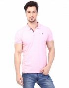 Rugby Mens Half Sleeve T-Shirt with Chest Embroidery RG-02_SOFT PINK