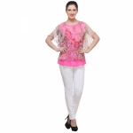 Varanga Secret Garden Pink Top KFAWWL1005