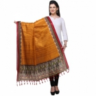 Varanga Orange And Multicolor Designer Dupatta KFBG115