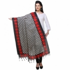 Varanga Red And Black Designer Dupatta KFBG117