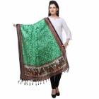 Varanga Green And Multicolor Designer Dupatta KFBG123