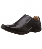 Redchief Mens Black Leather Formal Shoes RC1295