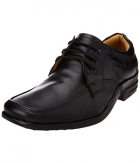 Redchief Mens Black Leather Formal Shoes RC1296