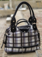 Arisha Checkered Satched Handbag Lb319