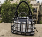 Arisha Checkered Satched Handbag Lb320