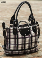 Arisha Checkered Satched Handbag Lb321
