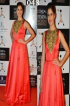 Katrina Kaif Anarkali At Loreal Femina Women Awards BWA048