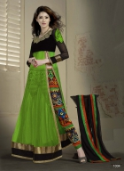 Khantil Stylish Outstanding Designer Green Colour Anarkali Suits SS2336-1004