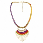 Sai Arisha Stylish Multicolour Long Neck Piece RH018M
