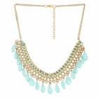 Sai Arisha Stylish Sea Green Neckpiece RHAR06