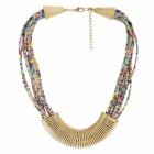 Sai Arisha Multicolour Beaded Neckpiece RHAR10