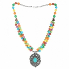 Sai Arisha Multicolour Beaded Neckpiece RHAR12